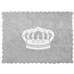 Alfombra Lavable Con Corona