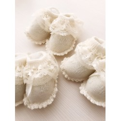 Patucos de perlé