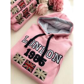London letras azules/rosa ROSA NIÑ@