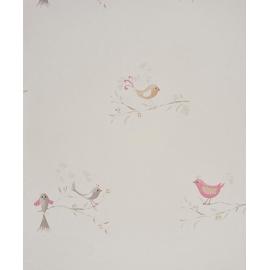 Papel pintado Pajaritos a volar