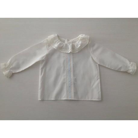 96c0346e9 Camisa de batista de bebé